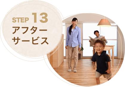 STEP13.アフターサービス